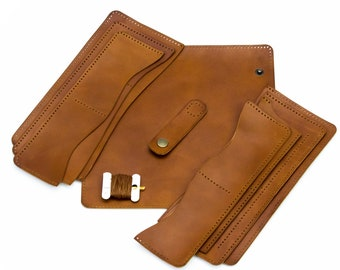 41725bc455 Kit for making leather wallet
