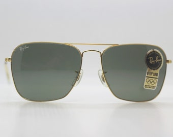 6bf7015504 Ray Ban Caravan Large Bausch Lomb B L USA Sunglasses Sonnenbrille Gafas  Lunettes Occhiali Sole