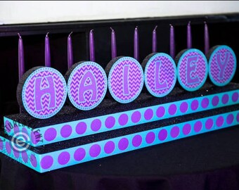 Candle Lighting Display for Sweet Sixteen , Quinceanera & Mitzvah Candle Lighting ceremony