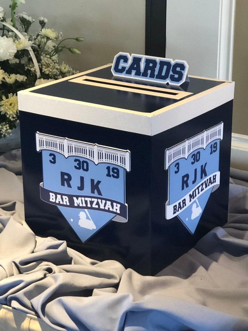 Logo themed Quinceaneras Mitzvahs Sweet Sixteens Gift Card Box