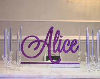 Candle Lighting Display for Sweet Sixteen , Quinceanera & Mitzvah Candle Lighting ceremony - One Tier