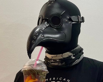 Plague Doctor Mask Cocktail edition