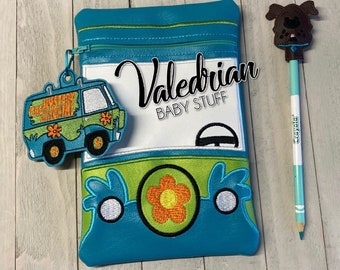 Scoobynatural Inspired Pencil Case