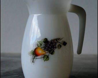 ARCOPAL 'France Fruits' pitcher