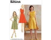 Butterick B6676 Misses 39 Dress Sewing Pattern - Size 6-8-10-12-14
