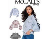 McCall 39 s M7723 Misses 39 Tops - Size 6-8-10-12-14
