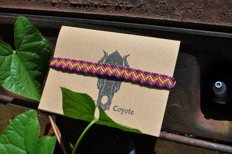 Zigzag Friendship Bracelet