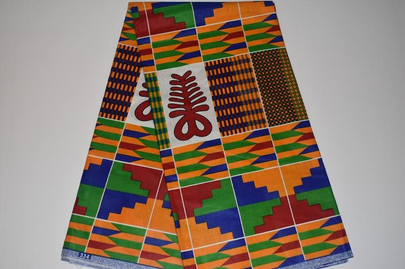 tribal fabric kente wholesale african fabric African Fabrics 6 yards ankara wholesale fabric