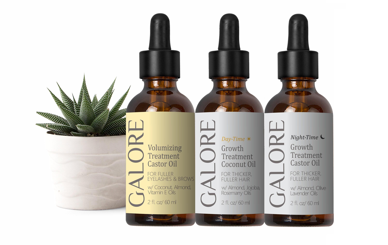 Hair Eyelashes And Eyebrows Growth Treatment Castor Oil Trio Etsy