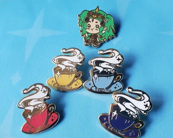 Teatime + Pouty Sothis Pins