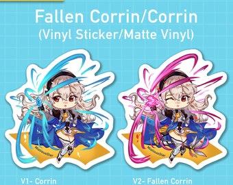 FE Corrin/Fallen Corrin Vinyl Stickers