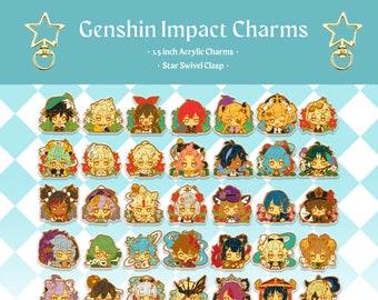PREORDER Genshin Impact Acrylic Charms