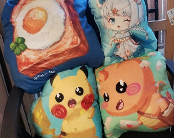 Various Pillow Plushes