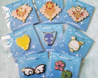 Sakura's Journey Hard Enamel Pins
