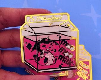 MooMoo Milk Enamel pin