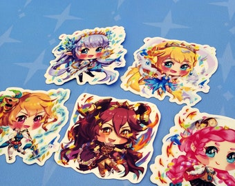 Dragalia Lost Girl  stickers