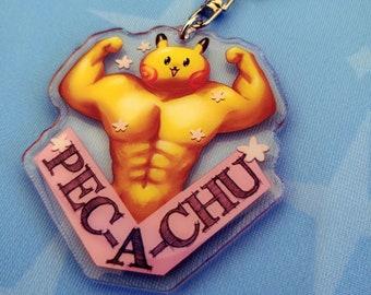 Pec-a-chu Keychains