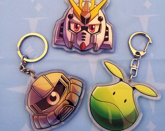 Gundam Acrylic Keychain