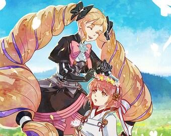 FE Sakura and Elise