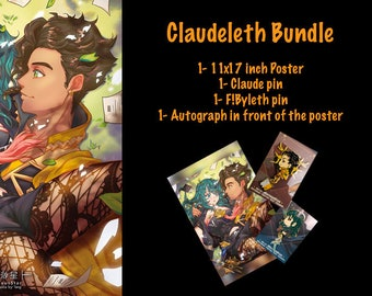Claudeleth Poster BUNDLE