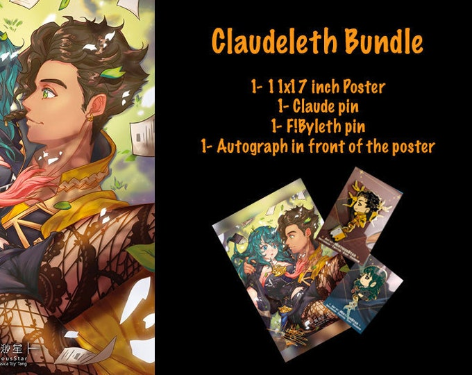Featured listing image: Claudeleth Poster BUNDLE