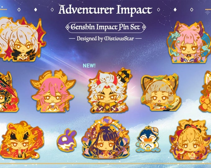 Featured listing image: PREORDER Genshin Impact Pins Series 2