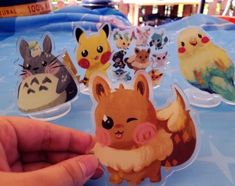 Cute Friends Acrylic Stands