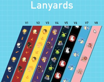 Lanyards 8 Designs