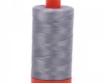 Light Lemon A1050-2110 Aurifil 50wt Mako Cotton Thread 1,422 yards