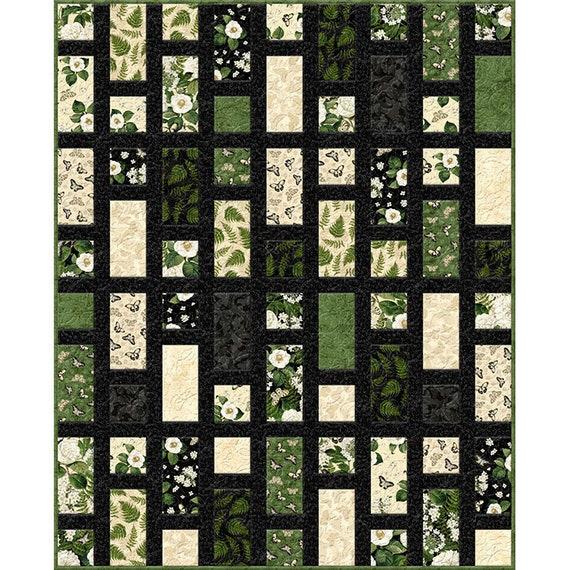 Chantrell Simplish Quilt Kit 56 1/2x 70 by Wilmington Prints   Etsy