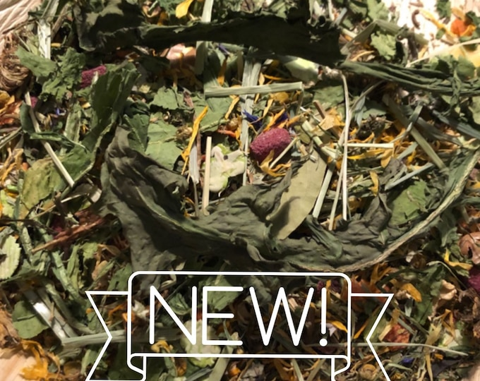 Leaf-it-Up Forage {Limited Edition}  / Hay Topper / Herbal Blend
