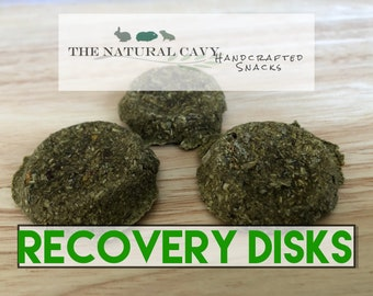 RecoveryDisks- Appetite Restoral/Recovery Aid/Weight Gain Treats for Guinea Pigs and Rabbits