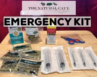 The Natural Cavy EMERGENCY KIT