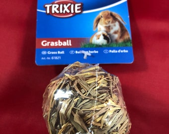 TRIXIE Grass Ball with Bell (small)