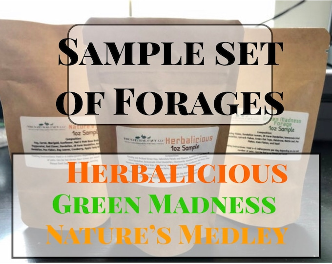 Sample Set of Forages / Hay Topper / Herbal Blend