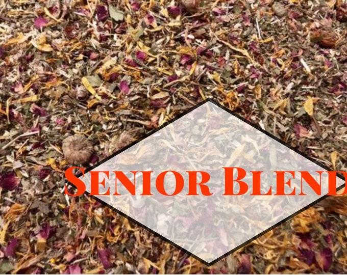 Senior Blend / Hay Topper / Herbal Blend / Health Aid