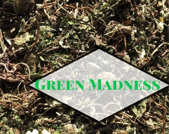 Green Madness Forage / NEW COMPOSITION / Hay Topper / Herbal Blend