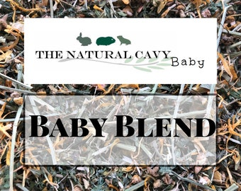 Baby Blend- Alfalfa-Based Forage for Baby and Pregnant Guinea Pigs and Rabbits