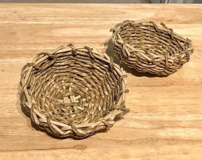Sea Grass Bowl / Chew Toy / Boredom Breaker Toy / Guinea Pig / Rabbit
