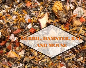 Gerbil, Hamster, Rat, and Mouse Forage Mix