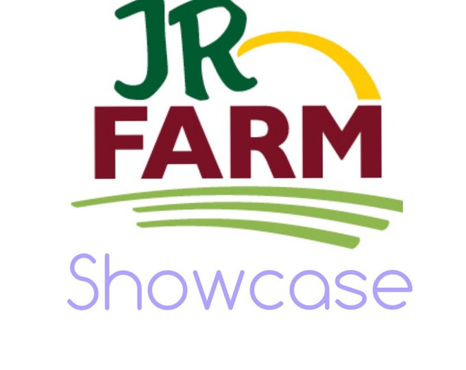 JR Farm Showcase- Get a freebie when you buy the featured product!