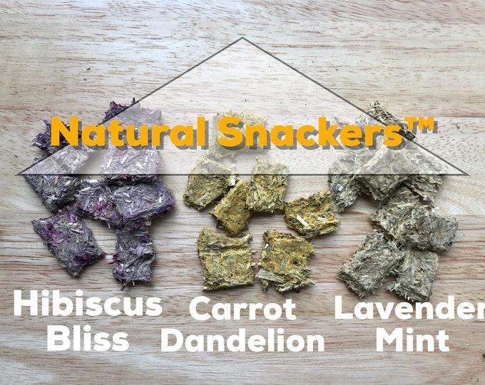 Natural Snackers™/ Hay-Based Treats / Guinea Pig Treat / Rabbit Treat
