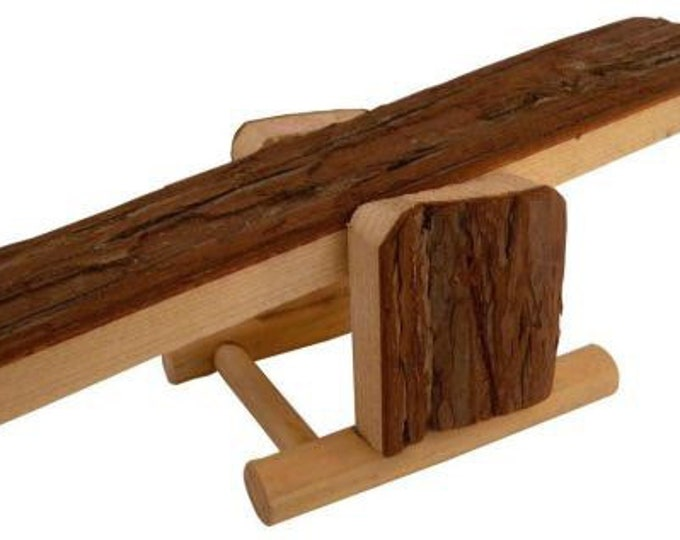 Tyrol Wooden Seesaw for hamsters, gerbils, and mice