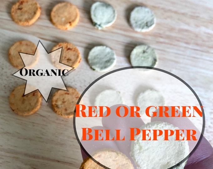 Organic Bell Pepper Cookies
