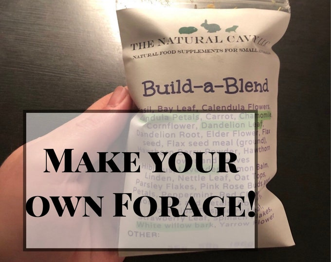 Build-a-Blend™ / CUSTOMIZABLE FORAGE / Hay Topper / Herbal Blend