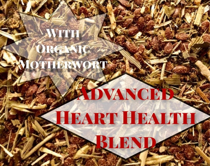 Advanced Heart Health Blend / Hay Topper / Herbal Blend / Health Aid