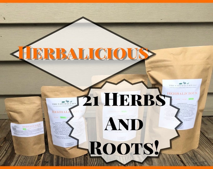 Herbalicious™ Forage Mix, Guinea Pig Hay Treats, Natural Herbs and Roots, Great for Enrichment & Wellbeing of your Pet