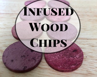 Infused Wood Chips- Naturally Flavored Chew for Guinea Pigs and Rabbits