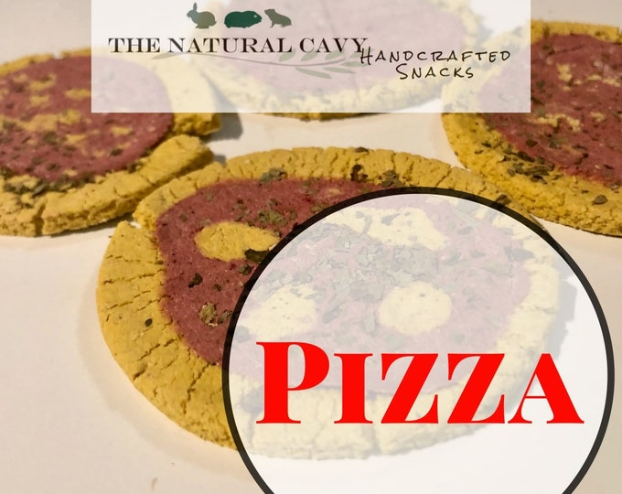 Pizza / Carrot and Beet / Guinea Pig Treats / Rabbit Treats
