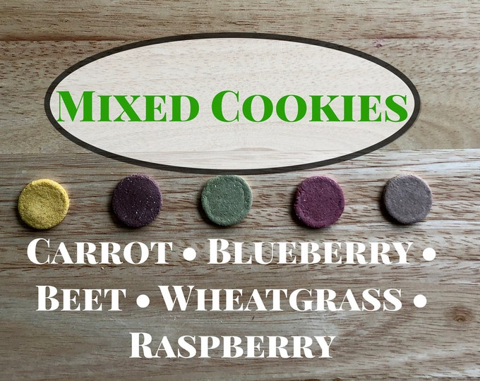 Mixed Cookies / Guinea Pig Treats / Rabbit Treats
